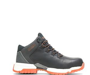 FootRests® 2.0 Baseline Nano Toe Trainer, Black/Orange, dynamic