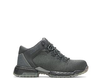 FootRests® 2.0 Baseline Nano Toe Trainer, Black Textile, dynamic