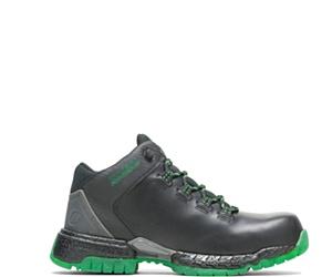 FootRests® 2.0 Baseline Nano Toe Trainer, Black/Green, dynamic