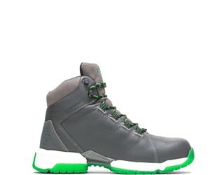 "FootRests® 2.0 Rebound Waterproof Nano Toe 6"" Hiker, Grey, dynamic"