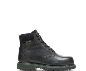 "FootRests® Waterproof  Composite Toe 6"" Work Boot, Black, dynamic"