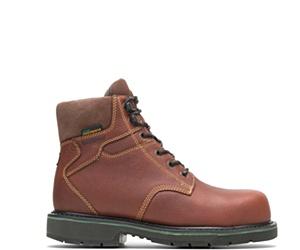 "FootRests® Waterproof  Composite Toe 6"" Work Boot, Brown, dynamic"