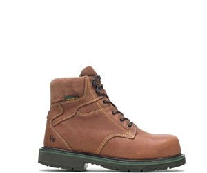 """FootRests® Composite Toe 6"""" Work Boot, Brown, dynamic"""