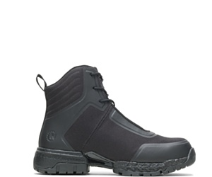 "FootRests® 2.0 Mission Nano Toe 6"" Zipper Boot, Black, dynamic"