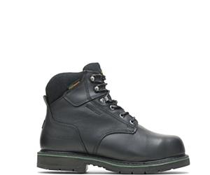 "FootRests® Waterproof Metatarsal Guard Composite Toe 6"" Work Boot, Black, dynamic"
