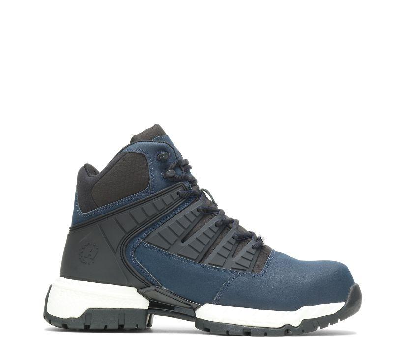 """FootRests® 2.0 Tread Nano Toe 6"""" Hiker, Navy, dynamic"""