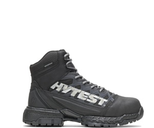 "FootRests® 2.0 Charge Waterproof Nano Toe 6"" Hiker, Black, dynamic"