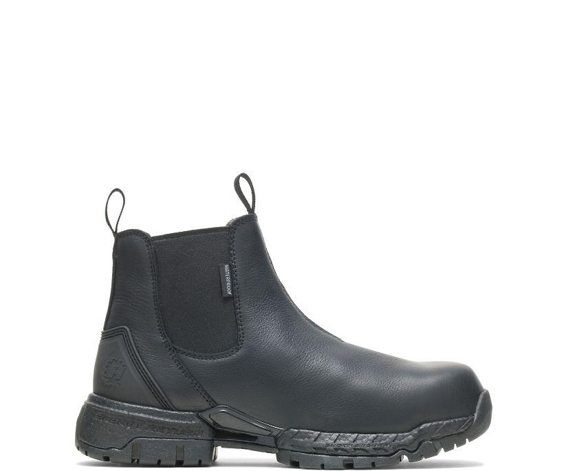 Men's FootRests® 2.0 Zone Waterproof Nano Toe Chelsea, Black, dynamic