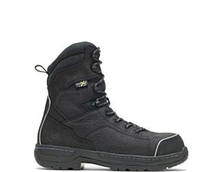"""FootRests® Xt Metatarsal Guard Nano Toe 8"""" Work Boot, Black, dynamic"""