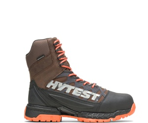 """FootRests® 2.0 Charge Waterproof Nano Toe 8"""" Boot, Brown, dynamic"""