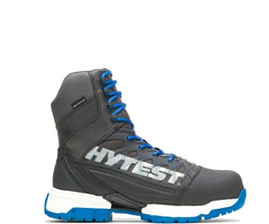"""FootRests® 2.0 Charge Waterproof Nano Toe 8"""" Boot, Blue, dynamic"""