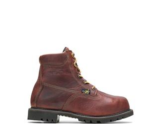 """Axel Usa Metatarsal Guard Steel Toe 6"""" Work Boot, Brown, dynamic"""