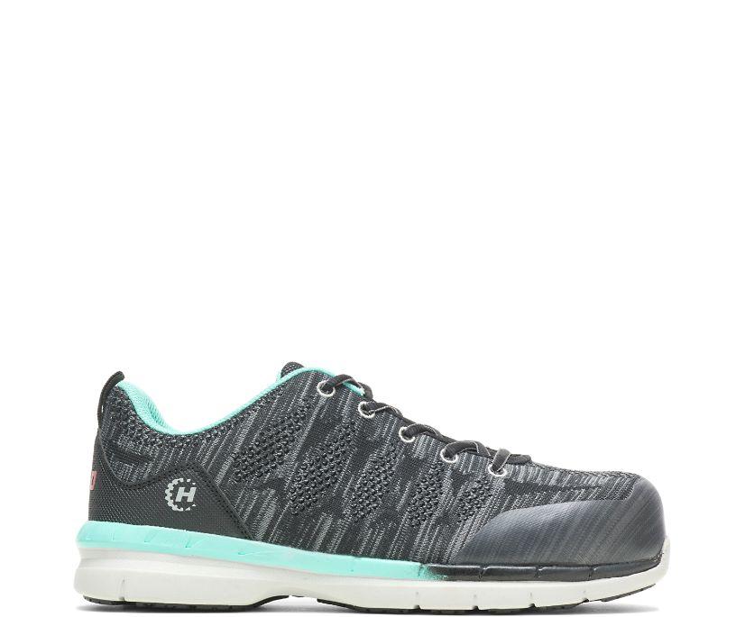 Cobalt Nano Toe Shoe, Black, dynamic