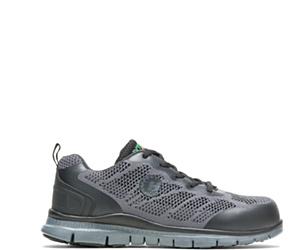 Women's Bolt Steel Toe Shoe, Grey, dynamic