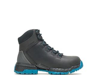 """Women's FootRests® 2.0 Maya Waterproof Nano Toe 6"""" Hiker, Black/Blue, dynamic"""