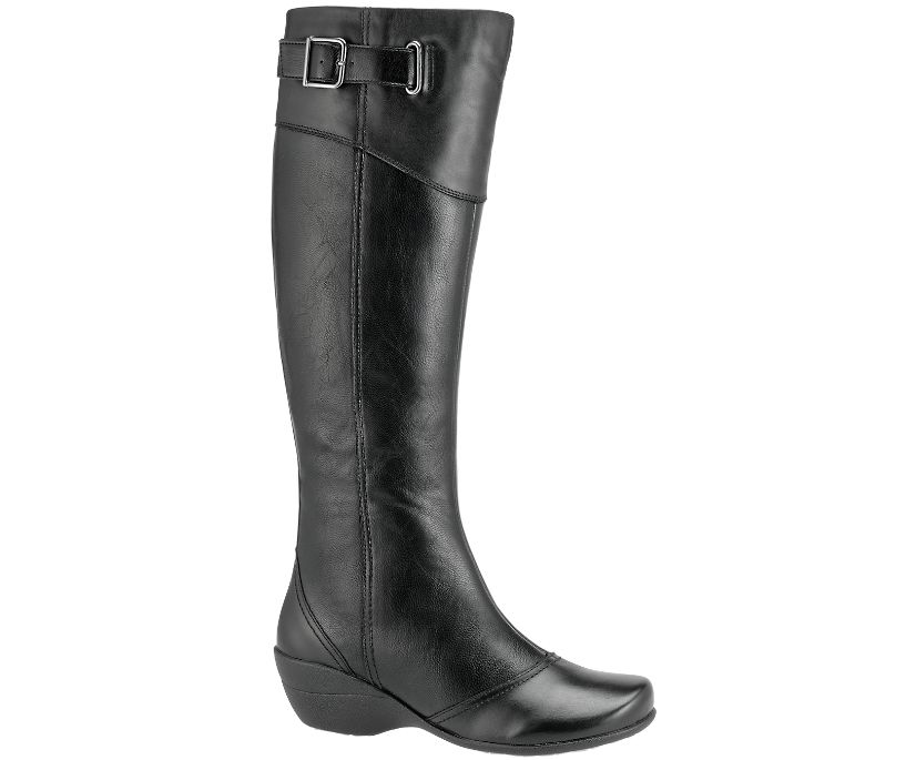 "Kana 14"" Boot, Black Leather, dynamic"