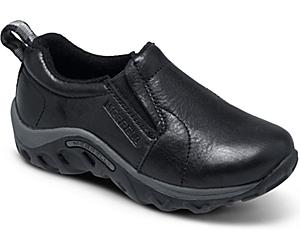 Jungle Moc Leather, Black, dynamic