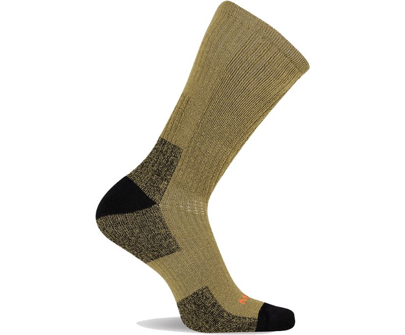 Tactical Crew Sock, Tan, dynamic