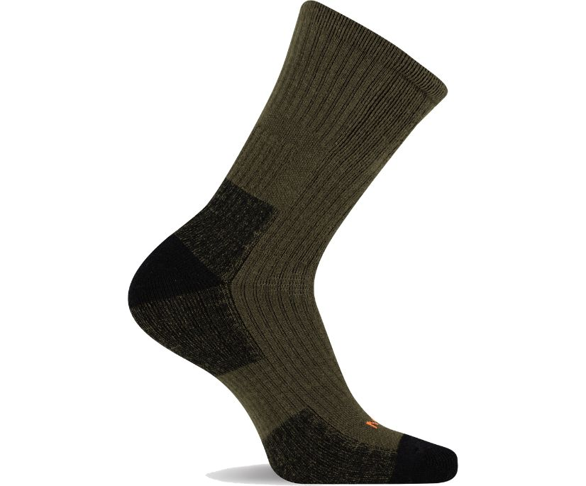 Tactical Crew Sock, Olive, dynamic