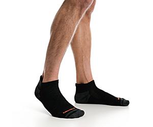Repreve® Low Cut Tab Sock 3 Pack, Black, dynamic