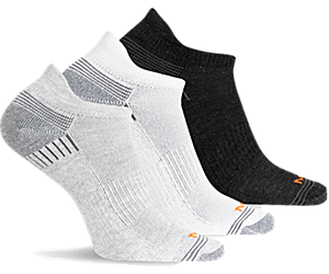 Repreve® Low Cut Tab Sock 3 Pack, Grey Heather Asst, dynamic