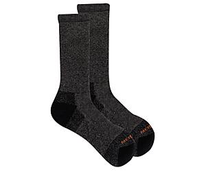 Moab Hiker Crew Sock, Onyx Marl, dynamic