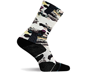 Print Crew Sock, Multi Print, dynamic