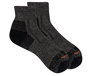 Moab Hiker Ankle Sock, Black, dynamic