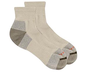 Moab Hiker Ankle Sock, Oatmeal, dynamic