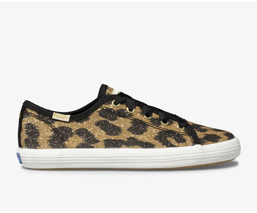 Keds x kate spade new york Kickstart Glitter Leopard, Glitter Leopard, dynamic