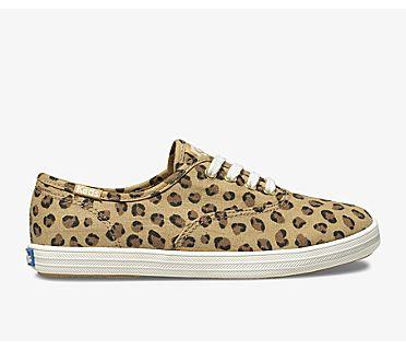 Champion Spring Sneaker, Leopard, dynamic