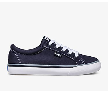 Jump Kick Canvas, Navy, dynamic