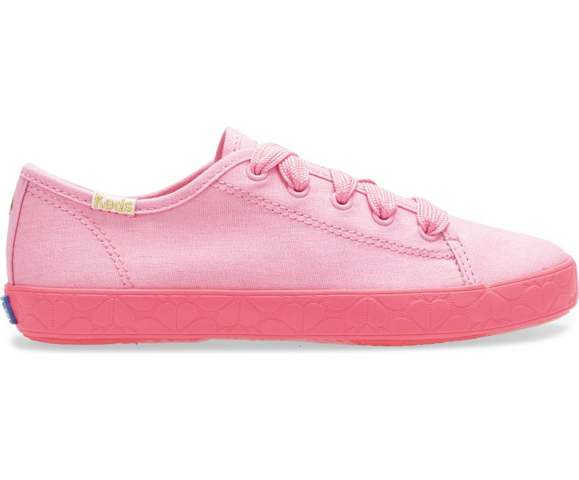 Keds x kate spade new york Kickstart, Pink/Foxing, dynamic