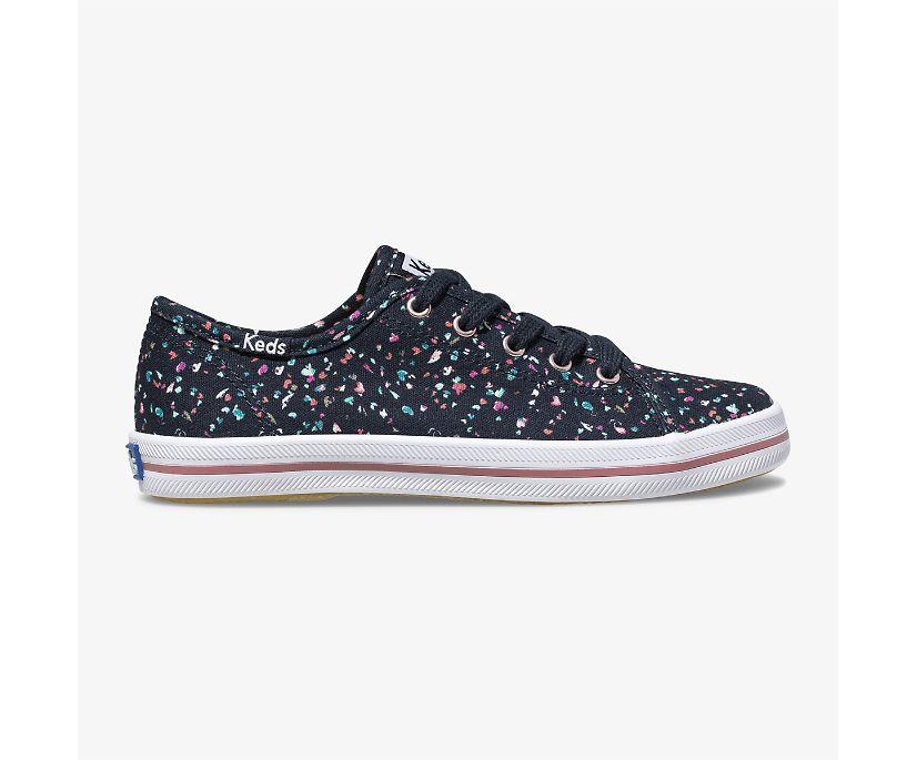 Kickstart Sneaker, Navy Terrazzo, dynamic