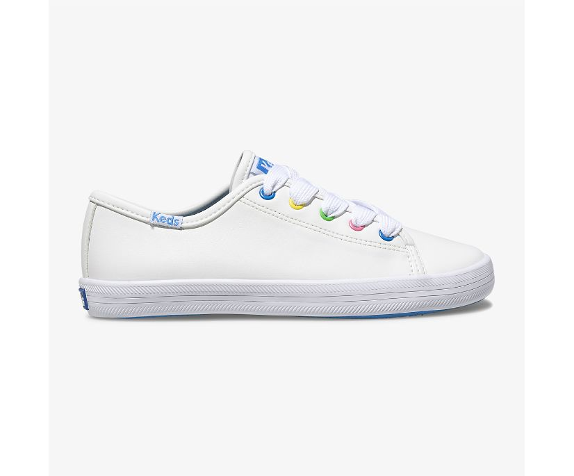 Kickstart Multi-color Eyelets, White Multi, dynamic