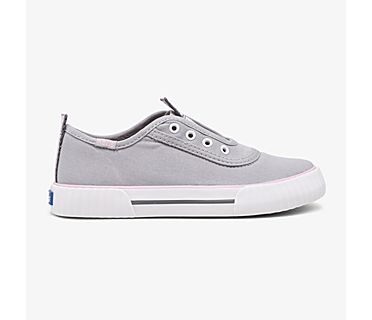 Washable Topkick Slip On, Grey, dynamic