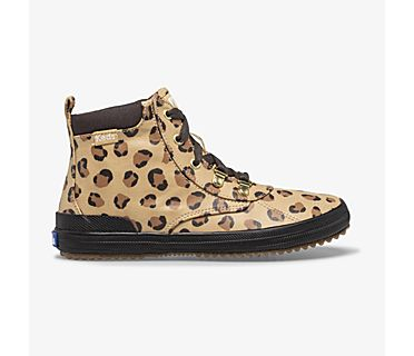 Scout Water-Resistant Boot, Leopard, dynamic