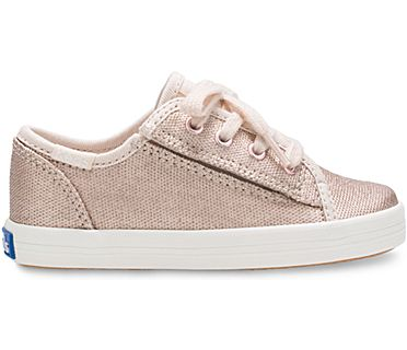 Kickstart Jr. Sneaker, Rose Gold, dynamic