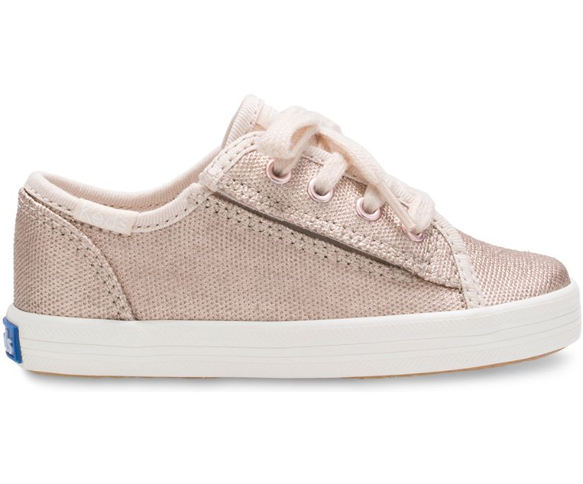 Kickstart Jr. Sneaker, Rose Gold, dynamic