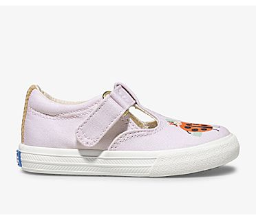 Keds x Rifle Paper Co. Daphne Lady Bug, Blush, dynamic