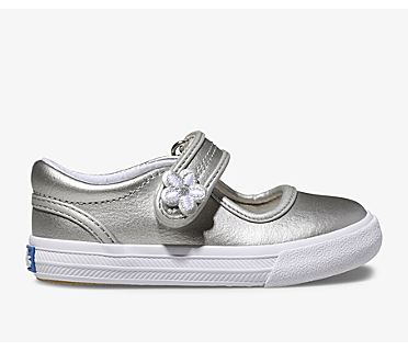 Ella Mary Jane, Silver Metallic, dynamic
