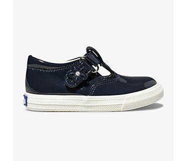 Daphne Patent Sneaker, Navy, dynamic
