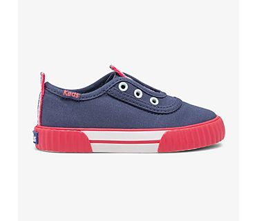 Washable Topkick Slip On Jr, Indigo, dynamic