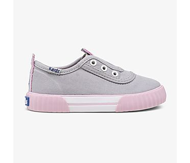 Topkick Washable Slip On Jr, Grey, dynamic