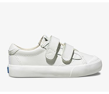 Crew Kick 75 2V Leather, White, dynamic
