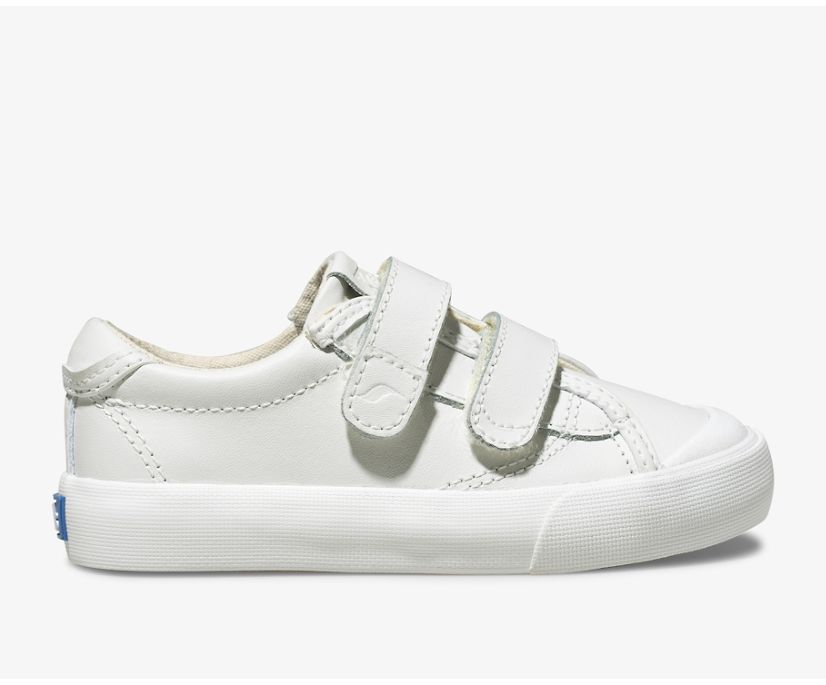 Crew Kick 75 2V Leather, White, dynamic