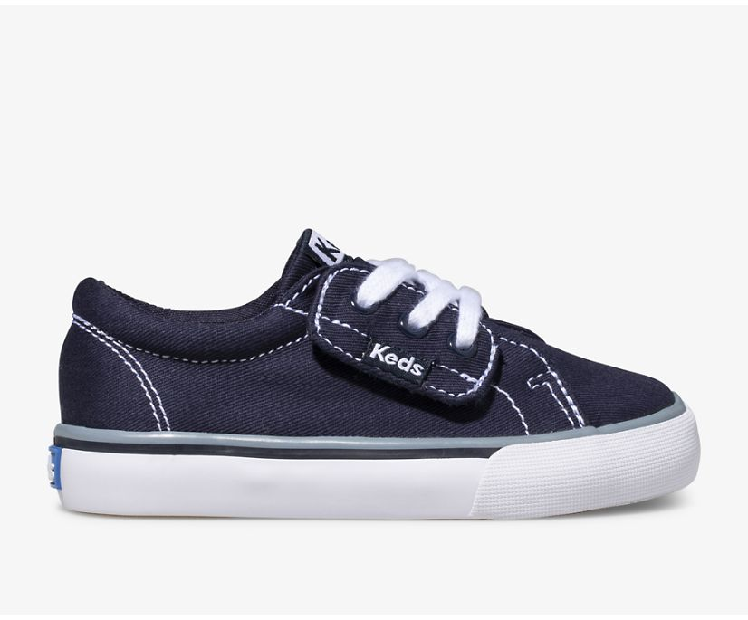 Jump Kick Jr Canvas, Navy, dynamic