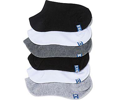 Kids Ankle Socks, White Asst, dynamic