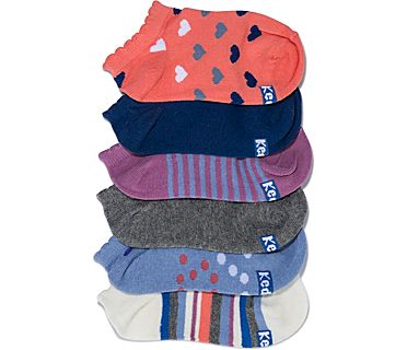 Kids Ankle Socks, Egret Asst, dynamic