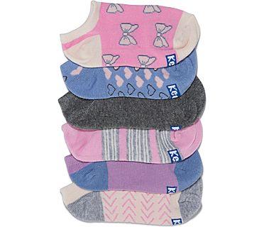 Kids Ankle Socks, Creol Pink Asst, dynamic